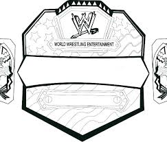 Wwe Coloring Pages To Print Printable Pictures Color Wrestlers John