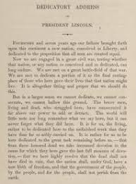 the gettysburg address gilder lehrman institute of american history abraham lincoln s gettysburg address boston little brown and co 1864 gilder lehrman collection