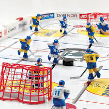 table ice hockey. stiga playoff table rod hockey game in action 71-1144-09 ice k