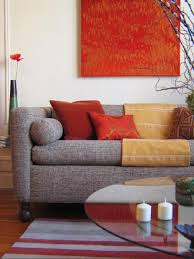 Red Living Room Decor Decorating With Warm Rich Colors Hgtv