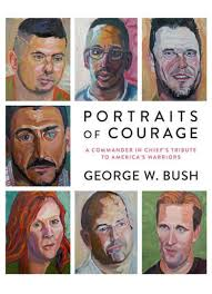 this book cover image released by crown shows portraits of courage a commander