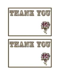 printable thank you card template 30 free printable thank you card templates wedding graduation