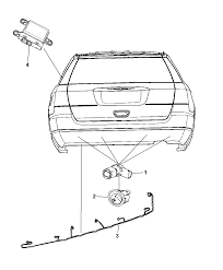 2014 dodge journey park assist diagram i2301281