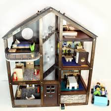DIY Dollhouse Makeover Make An OfftheShelf Dollhouse Look Like Classy Make Your Own Barbie Furniture Property