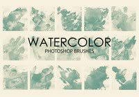 Watercolor Free Brushes 986 Free Downloads