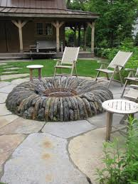 have warm atmosphere in your backyards with best fire pit ideas simple backyards