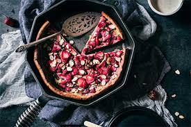 Why don't you upload coffee and vanilla drama on this friday? Strawberry Ginger Dutch Baby Recipe Finex Cast Iron Cookware Co