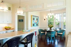boston wicker chair kitchen transitional with dark floor dining room chairs chair cushions
