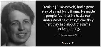 Fdr Quotes Simple Franklin D Roosevelt Quotes Entrancing Eleanor Roosevelt Quote