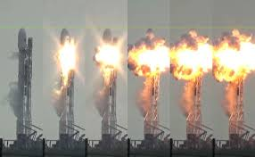 Image result for spacex falcon explosion