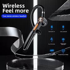 Versea Tai Nghe Bluetooth Không Dây Đeo Một Bên Với Microphone , Bluetooth  Stereo Tai Nghe, Thích Hợp Cho Thể Thao/Kinh Doanh
