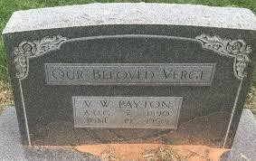 Virgil Wesley Payton (1890-1950) - Find A Grave Memorial