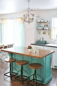 Kitchen Island Color Turquoise Colored Kitchen Island Quicuacom