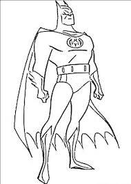 He wears it to protect his face. Free Printable Batman Coloring Pages For Kids
