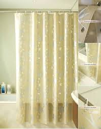 tree of life shower curtain luxury gold leaf patterns colorful