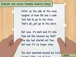Whether you're writing songs to pitch to music publishers, tv shows, commercials, dance clubs, or your own release, this songwriting method will get it done. How To Write Meaningful Lyrics With Pictures Wikihow