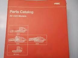 skidder manual fmc model 220 sp ag ca tracked skidder parts manual book catalog