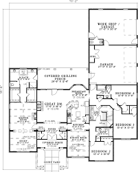 corner lot house plans. Plan W59857ND: Hill Country, European, Tuscan, Corner Lot House Plans \u0026 Home