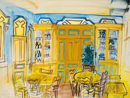 raoul dufy cafe scene 440 eric bourdon