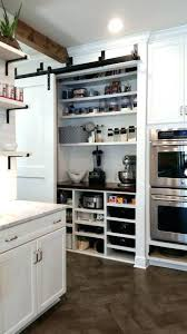 barn door pantry bypass appliance garage doors and crock pot sliding