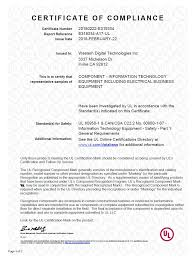 Ultrastar Dc Hc320 7k8 Agency Approval Letters