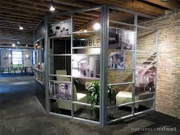 glass partition walls flex room 1 m
