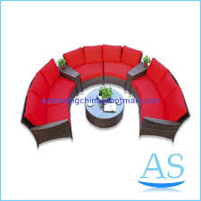 pl wilson and fisher patio outdoor furniture china patio garden half round sofa sr27