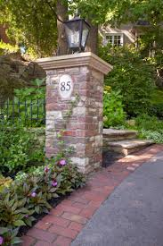 Brick Entrance Designs Driveway Try Brick Edging On Your Driveway To Make It More Appealing