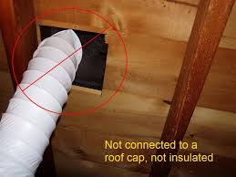Ceiling Stains - Insulating a bathroom
