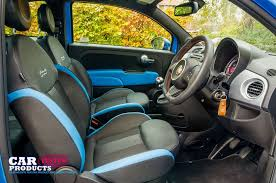 2014 fiat interior. 2014 fiat 500 s twinair review blue front cloth seats steering wheel interior r