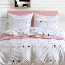 farmhouse luxury white bedding sets twin queen king size bed linens quilt cover pillow cover bedspread kids duvet spiderman bedding feather duvet from