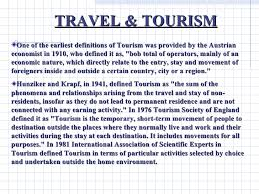 essay on promoting travel and tourism