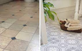 How To Lay Vinyl Floor In A Bathroom Dove Cottage