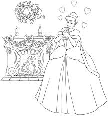 Small Picture Coloring Pages Kids Princess Cinderella Coloring Pages