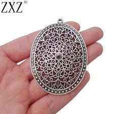 2019 zxz antique silver large oval charms pendants blank rhinestone seings for 5mm stones jewelry making findings from kenedy 21 09 dhgate com