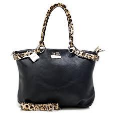 Cheap Coach Madison Leopard Large Black Satchels Acj Sale 4I0Y7
