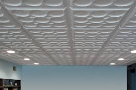 we absolutely love the ceiling tiles they installed super easy and looks fabulous i attached a few pictures if you want for your examples