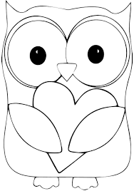 Printable Animal Owl Colouring Pages For