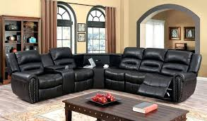 Black Recliner Chair With Cup Holder  And Storage O30