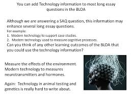 objective discuss the use of brain imaging technologies in  you can add technology information to most long essay questions in the bloa although we are
