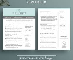 Two Pageume Templates Example Template Susan Hill Make Sample ...