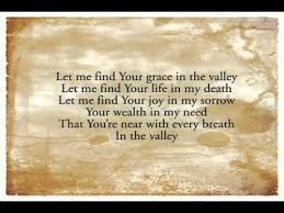 Image result for pictures of trusting God through the valley of death