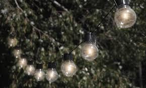 nitebulbs solar powered outdoor string lights groupon outdoor string lights