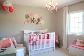wall decor ideas for baby girl nursery