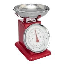 Retro Kitchen Scales Uk Red Kitchen Scales Dotcomgiftshop