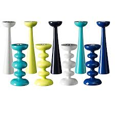 candle holders contemporary bright coloured candle by ciel