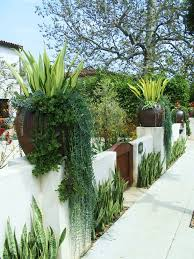 Designer Trees For Small Gardens Interesting Spanish Front Yard Landscaping Ideas Photo