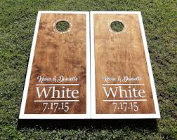 Wooden Corn Hole Game Cornhole boards Etsy 48