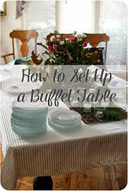 How to Set Up a Buffet Table, a few simple tips to remember and my buffet  tables will always be a hit. I never c…   Buffet table, Buffet,  Thanksgiving food desserts