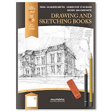 aurora raphaël drawing book glossy paper cover blank drawing paper